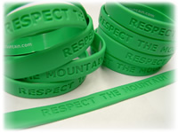 Respect the Mountain wristband